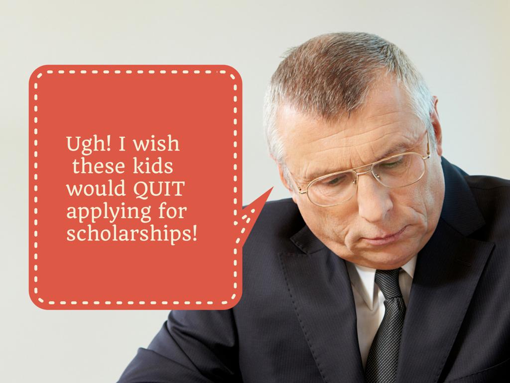 apply for scholarships