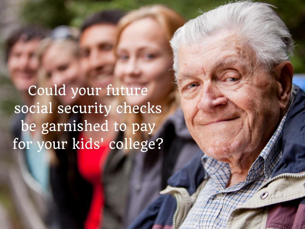 social security checks garnished