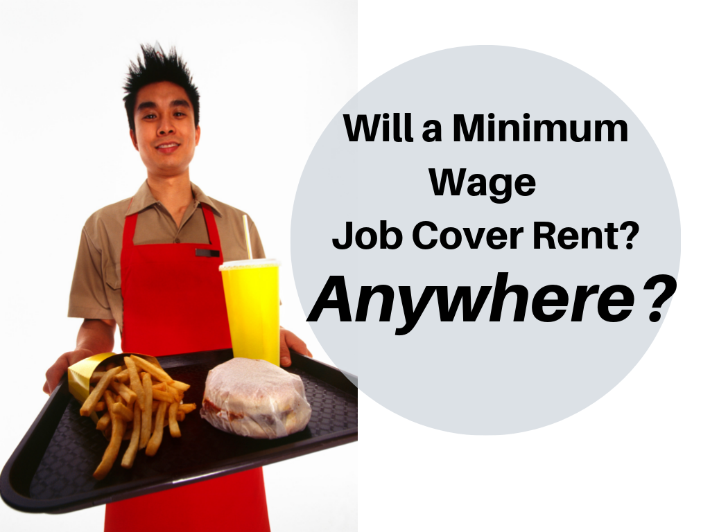 minimum wage job