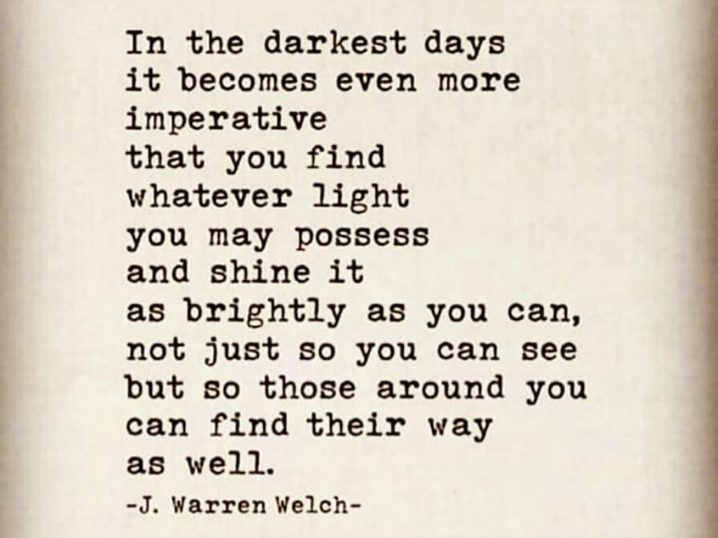 shine it