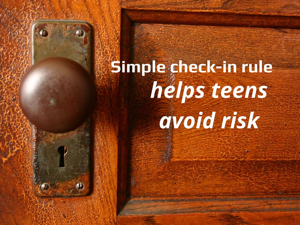 teens avoid risk